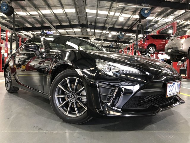 Pre-Owned Toyota 86 ZN6 GT Oakleigh, 2020 Toyota 86 ZN6 GT Storm Black 6 Speed Sports Automatic Coupe