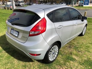 2012 Ford Fiesta WT CL PwrShift Silver 6 Speed Sports Automatic Dual Clutch Hatchback.