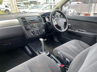 2011 Nissan Tiida C11 S3 ST White 4 Speed Automatic Hatchback