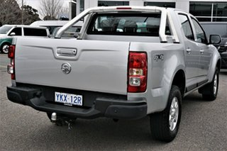2015 Holden Colorado RG MY16 LS-X Crew Cab Silver 6 Speed Sports Automatic Utility