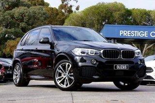 2018 BMW X5 F15 xDrive30d Black 8 Speed Sports Automatic Wagon.