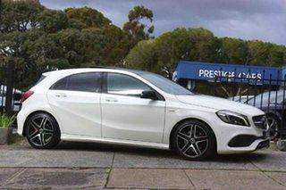 2017 Mercedes-Benz A-Class W176 808+058MY A250 D-CT 4MATIC Sport White 7 Speed