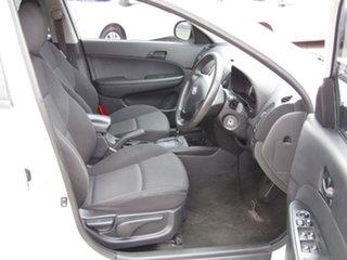2010 Hyundai i30 FD MY10 SX Alfa White 4 Speed Automatic Hatchback