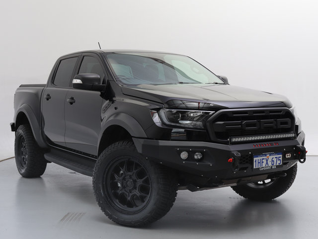 Used Ford Ranger PX MkIII MY19.75 Raptor 2.0 (4x4), 2019 Ford Ranger PX MkIII MY19.75 Raptor 2.0 (4x4) Black 10 Speed Automatic Double Cab Pick Up