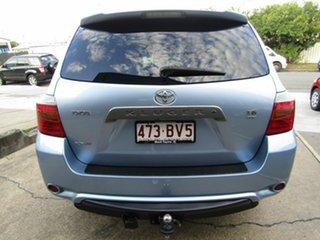 2009 Toyota Kluger GSU40R KX-S 2WD Blue 5 Speed Sports Automatic Wagon.