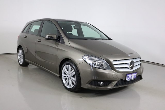 Used Mercedes-Benz B180 246 MY13 BE Bentley, 2013 Mercedes-Benz B180 246 MY13 BE Grey 7 Speed Auto Direct Shift Hatchback