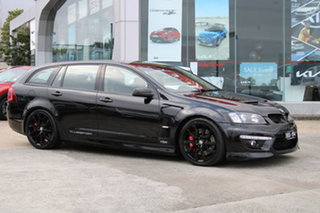 2012 Holden Special Vehicles ClubSport E Series 3 MY12.5 R8 Tourer Black 6 Speed Manual Wagon.