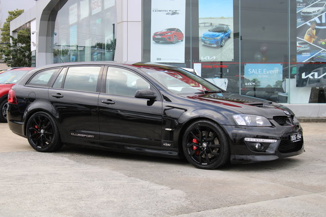 Used Holden Special Vehicles ClubSport E Series 3 MY12.5 R8 Tourer Ferntree Gully, 2012 Holden Special Vehicles ClubSport E Series 3 MY12.5 R8 Tourer Black 6 Speed Manual Wagon