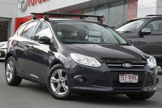 2014 Ford Focus LW MkII Trend PwrShift Grey 6 Speed Sports Automatic Dual Clutch Hatchback.