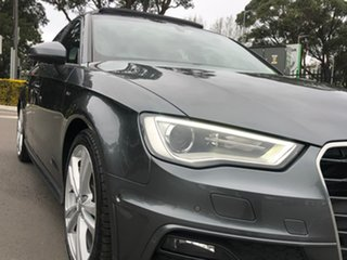 2015 Audi A3 8V MY16 Ambition Sportback S Tronic Grey 7 Speed Sports Automatic Dual Clutch Hatchback.