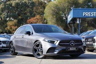 2019 Mercedes-Benz A-Class W177 800+050MY A180 DCT Grey 7 Speed Sports Automatic Dual Clutch.