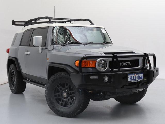 Used Toyota FJ Cruiser GSJ15R MY14 , 2015 Toyota FJ Cruiser GSJ15R MY14 Grey 5 Speed Automatic Wagon