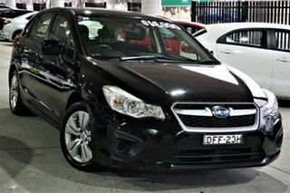 2013 Subaru Impreza G4 MY13 2.0i Lineartronic AWD Black 6 Speed Constant Variable Hatchback.