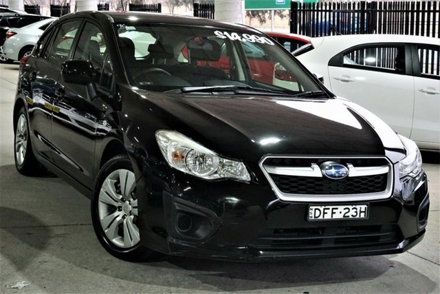 Used Subaru Impreza G4 MY13 2.0i Lineartronic AWD Phillip, 2013 Subaru Impreza G4 MY13 2.0i Lineartronic AWD Black 6 Speed Constant Variable Hatchback