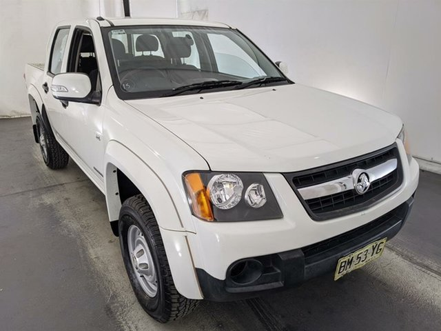 Used Holden Colorado RC MY11 LX Crew Cab 4x2 Maryville, 2011 Holden Colorado RC MY11 LX Crew Cab 4x2 White 4 Speed Automatic Utility