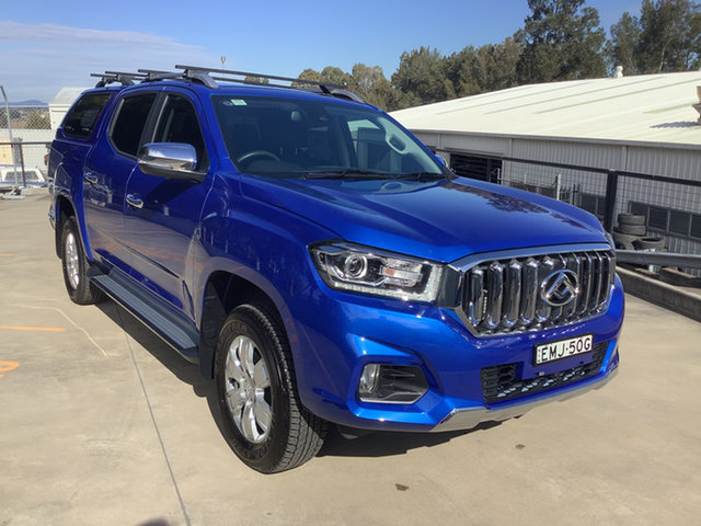 Used LDV T60 SK8C Luxe Maitland, 2021 LDV T60 SK8C Luxe Blue 6 Speed Sports Automatic Utility