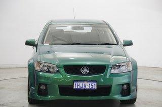 2011 Holden Commodore VE II SS V Sportwagon Green 6 Speed Manual Wagon.