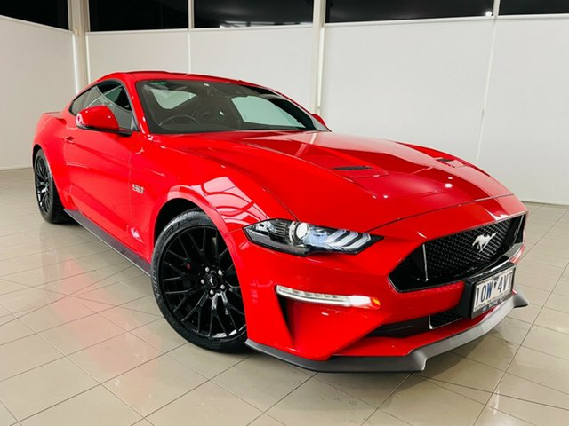 Used Ford Mustang FN 2018MY GT Fastback SelectShift Deer Park, 2018 Ford Mustang FN 2018MY GT Fastback SelectShift Red 10 Speed Sports Automatic Fastback