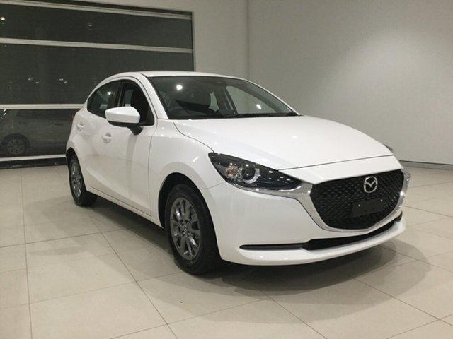 Used Mazda 2 DJ2HA6 G15 SKYACTIV-MT Pure Alexandria, 2020 Mazda 2 DJ2HA6 G15 SKYACTIV-MT Pure White 6 Speed Manual Hatchback