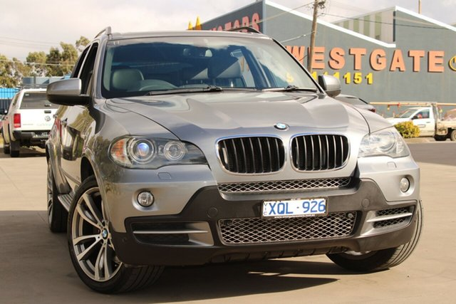 Used BMW X5 E70 MY10 xDrive30d West Footscray, 2010 BMW X5 E70 MY10 xDrive30d 8 Speed Automatic Sequential Wagon