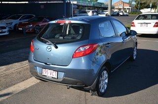 2014 Mazda 2 DE MY14 Maxx Sport Blue 4 Speed Automatic Hatchback.