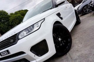 2015 Land Rover Range Rover Sport L494 15.5MY SE White 8 Speed Sports Automatic Wagon