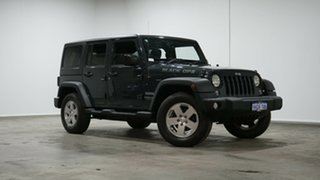 2018 Jeep Wrangler JK MY18 Unlimited Sport Grey 5 Speed Automatic Softtop.