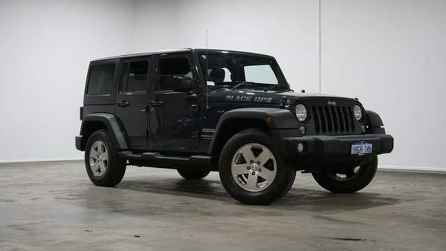 Used Jeep Wrangler JK MY18 Unlimited Sport Welshpool, 2018 Jeep Wrangler JK MY18 Unlimited Sport Grey 5 Speed Automatic Softtop