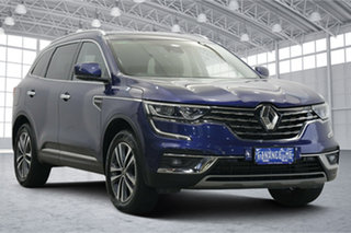 2019 Renault Koleos HZG Zen X-tronic Blue 1 Speed Constant Variable Wagon.