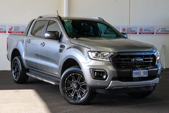 Pre-Owned Ford Ranger PX MkIII MY19.75 Wildtrak 2.0 (4x4) Myaree, 2019 Ford Ranger PX MkIII MY19.75 Wildtrak 2.0 (4x4) Silver 10 Speed Automatic Double Cab Pick Up