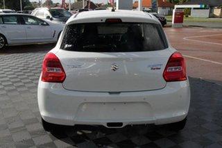2021 Suzuki Swift AZ Series II GLX Turbo Pure White 6 Speed Sports Automatic Hatchback.