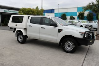 2015 Ford Ranger PX XL White 6 speed Automatic Cab Chassis