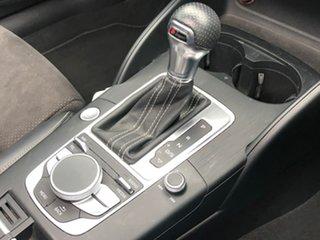 2015 Audi A3 8V MY16 Ambition Sportback S Tronic Grey 7 Speed Sports Automatic Dual Clutch Hatchback
