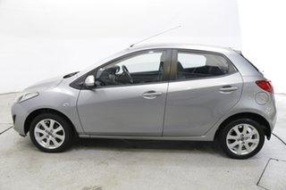 2014 Mazda 2 DE10Y2 MY14 Neo Sport Silver 5 Speed Manual Hatchback