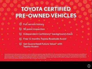 2017 Toyota Hilux GUN126R SR (4x4) Graphite 6 Speed Automatic Dual Cab Utility.