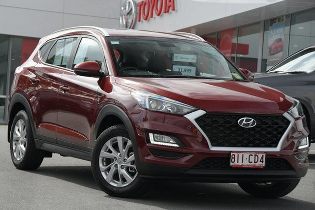 Pre-Owned Hyundai Tucson TL3 MY19 Active X 2WD Woolloongabba, 2019 Hyundai Tucson TL3 MY19 Active X 2WD Maroon 6 Speed Automatic Wagon