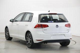 2017 Volkswagen Golf VII MY17 92TSI White 6 Speed Manual Hatchback