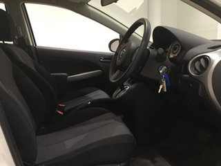2010 Mazda 2 DE10Y1 MY10 Neo Cool White 4 Speed Automatic Hatchback