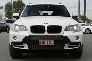 2009 BMW X5 E70 MY10 xDrive30d Steptronic Alpine White 6 Speed Sports Automatic Wagon
