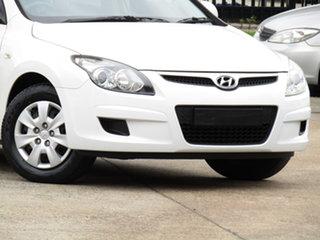 2010 Hyundai i30 FD MY10 SX Alfa White 4 Speed Automatic Hatchback.
