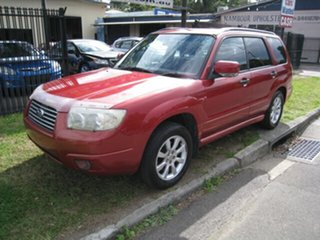 2006 Subaru Forester MY07 XS Red 5 Speed Manual Wagon.