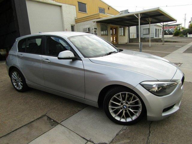 Used BMW 1 Series F20 MY0713 118i Steptronic Moorooka, 2013 BMW 1 Series F20 MY0713 118i Steptronic Silver 8 Speed Sports Automatic Hatchback