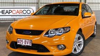 2009 Ford Falcon FG XR6 Orange 5 Speed Sports Automatic Sedan.