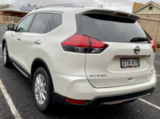 2018 Nissan X-Trail T32 Series II ST-L X-tronic 2WD Ivory Pearl Continuous Variable Transmission