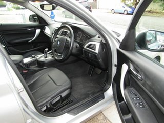 2013 BMW 1 Series F20 MY0713 118i Steptronic Silver 8 Speed Sports Automatic Hatchback