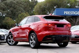 2016 Jaguar F-PACE X761 MY17 S Red 8 Speed Sports Automatic Wagon