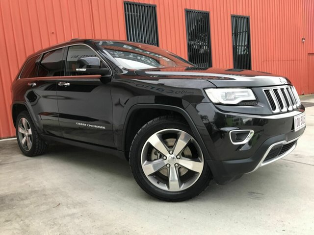 Used Jeep Grand Cherokee WK MY2014 Limited Molendinar, 2014 Jeep Grand Cherokee WK MY2014 Limited Black 8 Speed Sports Automatic Wagon