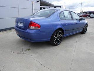 2004 Ford Falcon BA Classic XT Blue 4 Speed Sports Automatic Sedan.