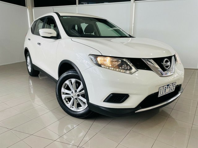 Used Nissan X-Trail T32 ST X-tronic 2WD Deer Park, 2016 Nissan X-Trail T32 ST X-tronic 2WD White 7 Speed Constant Variable Wagon