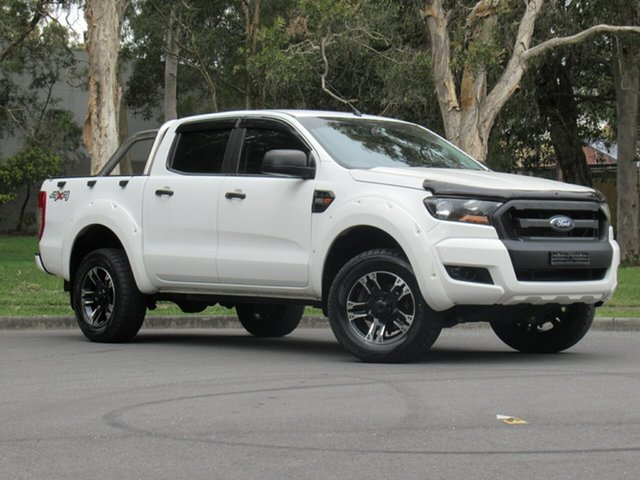 Used Ford Ranger PX MkII XL, 2016 Ford Ranger PX MkII XL White 6 Speed Sports Automatic Utility